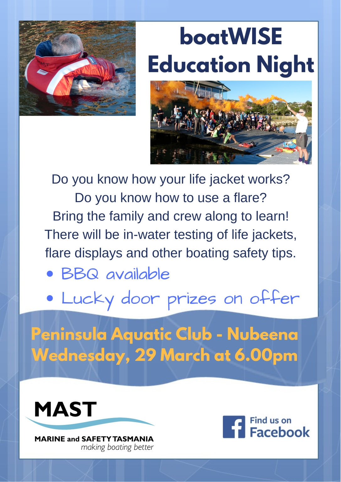 boating education night